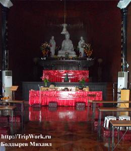 Poseshhenie hrama v Davao Посещение храма в Давао