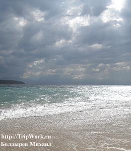 plyazh v kaput yane Великолепный пляж в Капутьяне на острове Самал