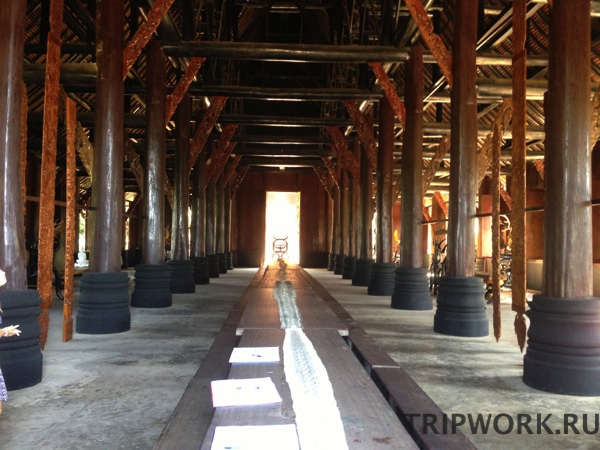 black temple in Chiangrai 2 Черный дом в Чианг Рай   кошмар наяву