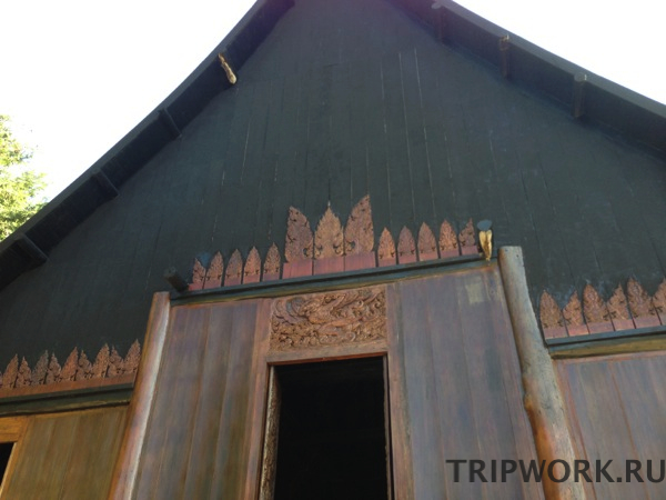 black temple in Chiangrai 29 Черный дом в Чианг Рай   кошмар наяву