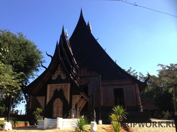 black temple in Chiangrai 34 Черный дом в Чианг Рай   кошмар наяву