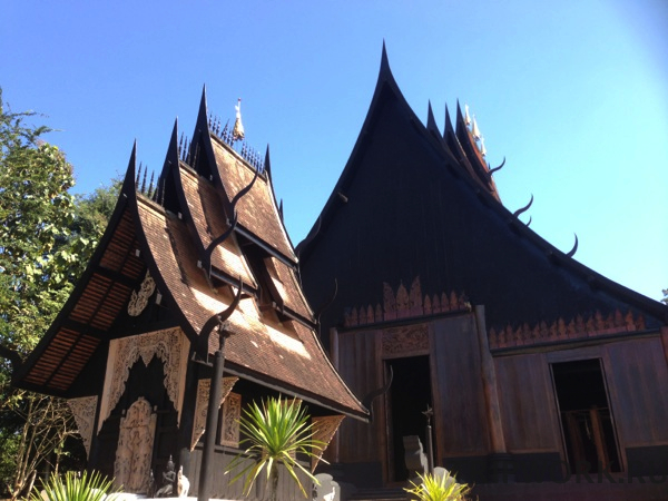 black temple in Chiangrai 35 Черный дом в Чианг Рай   кошмар наяву